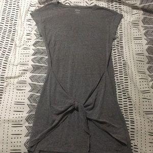 Aerie Tie-Front Dress